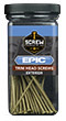 Trim Head Screws, 9 x 5, EPIC Exterior, Star Drive, 50 pc Appx, 30763
