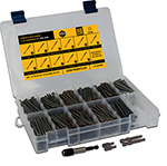 C-Deck Decking Screw Assortment Kit, Star Drive, CDAK