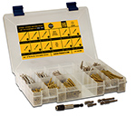 Trim Head Wood Screw Assortment Kit, Star Drive, THAK