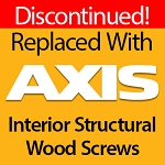 Flat Head Wood Screws, 14 x 7, Gold Star Interior Star Drive, 22 ct, YTX-14700-1