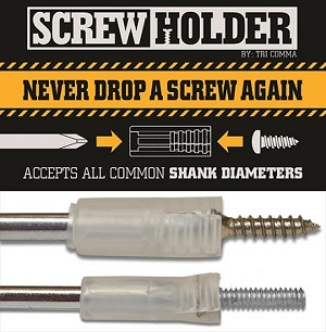 4pc ScrewHolder, Accessory, SH4PACK